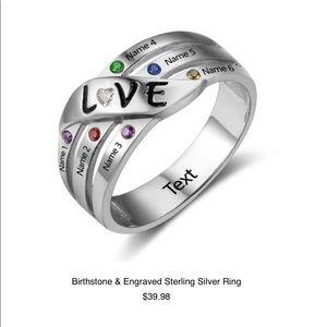 Jewelry - birthstone rings www.butterflyfifthavenue.com